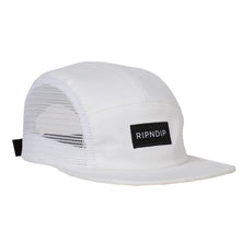 Load image into Gallery viewer, Ripndip Doppler Camp white 5 panel cap