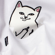 Load image into Gallery viewer, Ripndip Lord Nermal with back print white T shirt