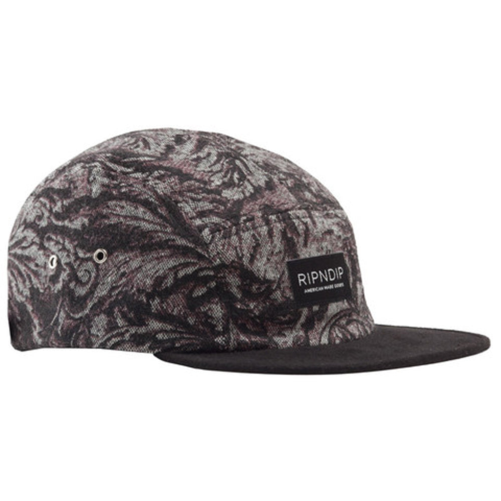 Ripndip Paisley Camp 5 panel cap