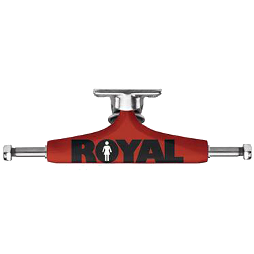 Royal Evolution Girl Advertype red/raw 5.0 trucks