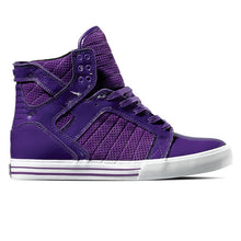 Load image into Gallery viewer, Supra Skytop purple suede patent
