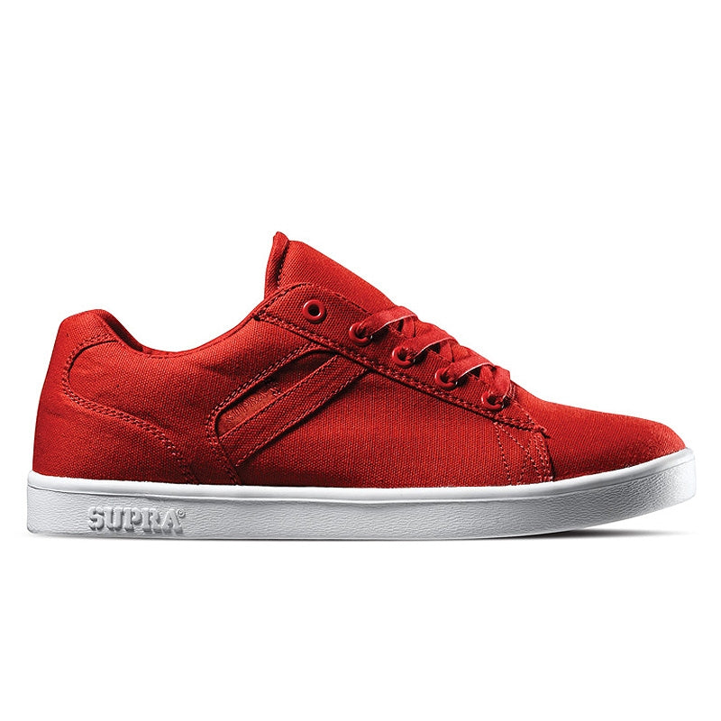 Supra Bullet red canvas