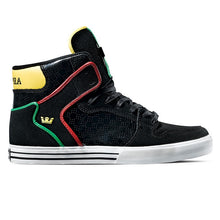 Load image into Gallery viewer, Supra Vaider black rasta