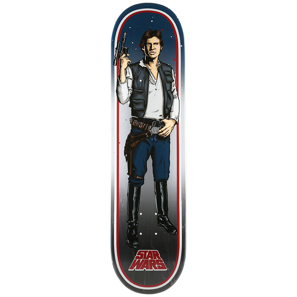 Santa Cruz Star Wars Han Solo deck 8.25