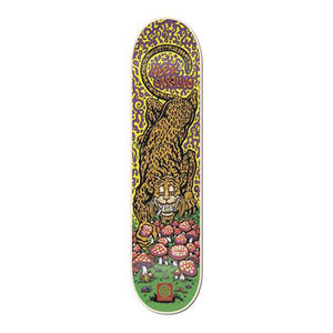 Santa Cruz Carolino Trippy Tiger Powerply deck