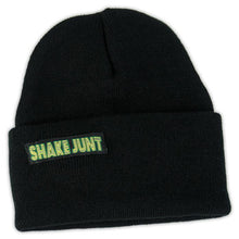 Load image into Gallery viewer, Shake Junt Skully black beanie
