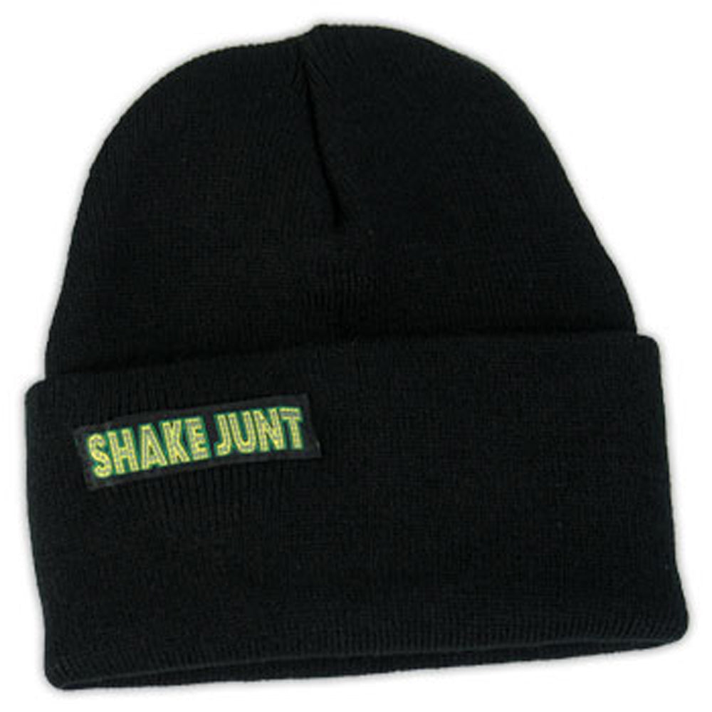 Shake Junt Skully black beanie