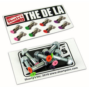 "Shorty's The De La 1"" phillips bolts"
