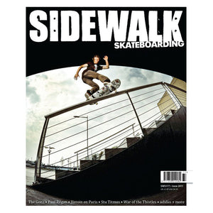Sidewalk magazine June 2011 issue 177 with free Sharpie pen