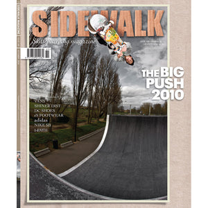 Sidewalk magazine October 2010 issue 169 with The Big Push DVD