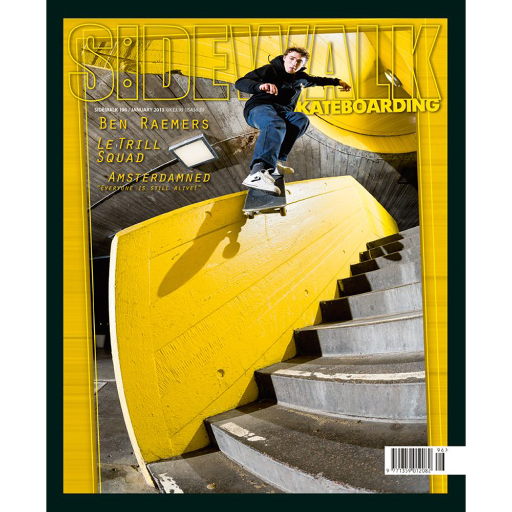 Sidewalk magazine issue January 2013 issue 196