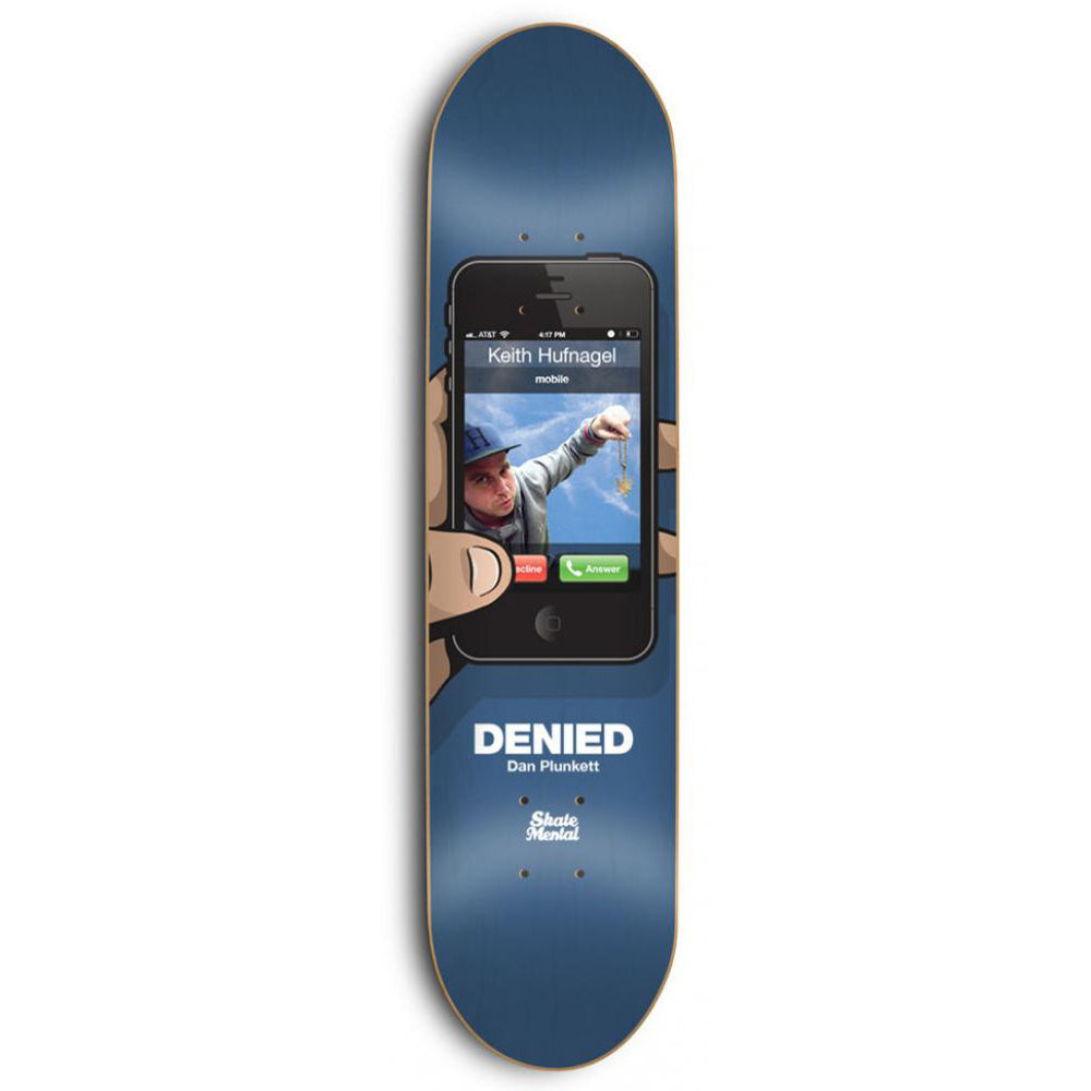 Skate Mental Plunkett Denied deck 8.125