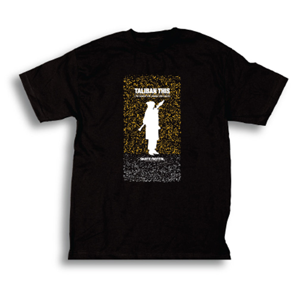 Skate Mental Taliban This black T shirt