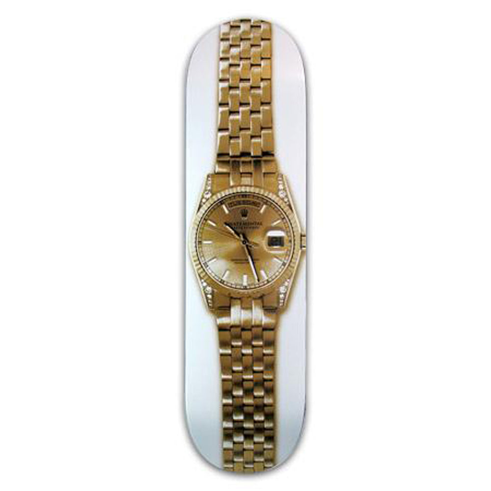 Skate Mental Forbes Gold Watch deck