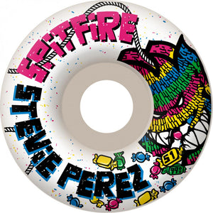 Spitfire Stevie Perez Smash and Grab white 53mm wheels