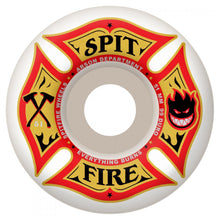 Load image into Gallery viewer, Spitfire Arson Dept white 53mm wheels