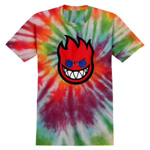 Spitfire All You Need Is Fire tie dye T shirt