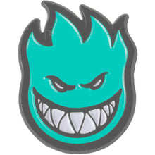 Load image into Gallery viewer, Spitfire Bighead Fill Lapel pin black nickel/blue