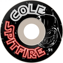 Load image into Gallery viewer, Spitfire Cole Darkside 51mm wheels