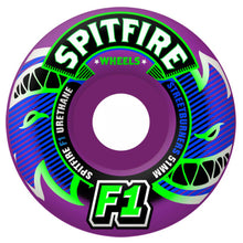 Load image into Gallery viewer, Spitfire F1 Streetburners Eternal purple 53mm wheels