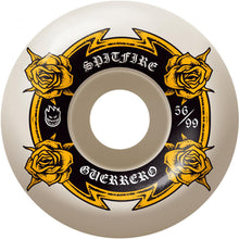 Load image into Gallery viewer, Spitfire Guerrero Lifers 99du wheels 56mm
