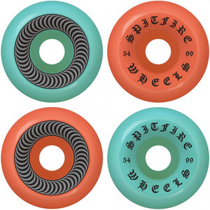 Spitfire OG Classic 50-50 Mashup 99du wheels 54mm