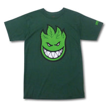 Load image into Gallery viewer, Spitfire Sparked hunter green T shirt