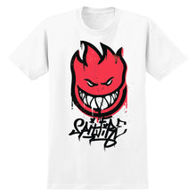 Load image into Gallery viewer, Spitfire Sprayfire 2 white T shirt