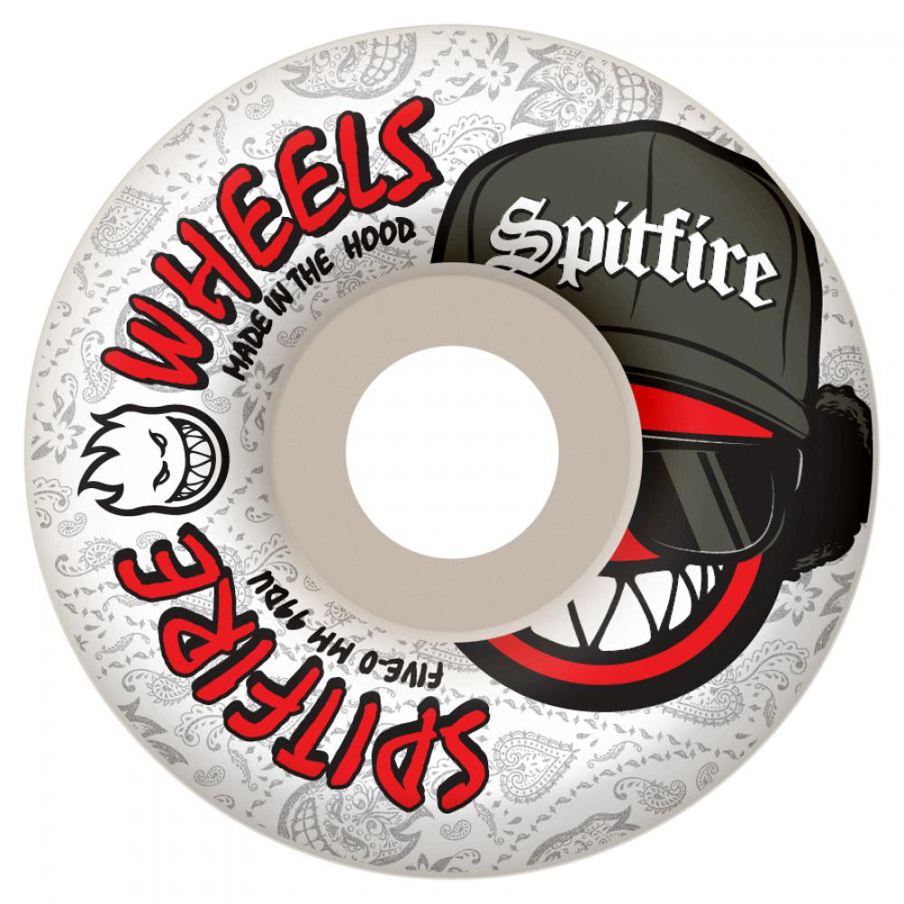 Spitfire Streetz 52mm white wheels