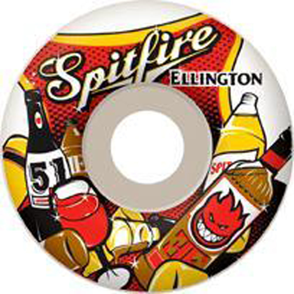 Spitfire Ellington Happy Hour 53mm wheels