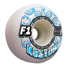 Load image into Gallery viewer, Spitfire Koston F1 Streetburners 50mm wheels