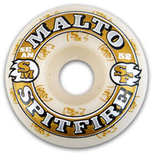 Load image into Gallery viewer, Spitfire Malto KC Fire 52mm wheels