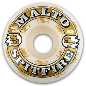 Spitfire Malto KC Fire 52mm wheels