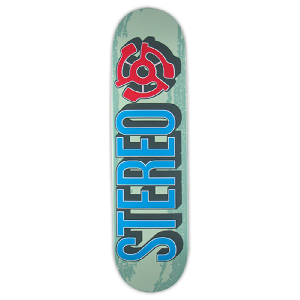Stereo Classic Brush Seafoam deck