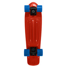 Load image into Gallery viewer, Stereo Vinyl Cruiser Remix red/blue complete skateboard