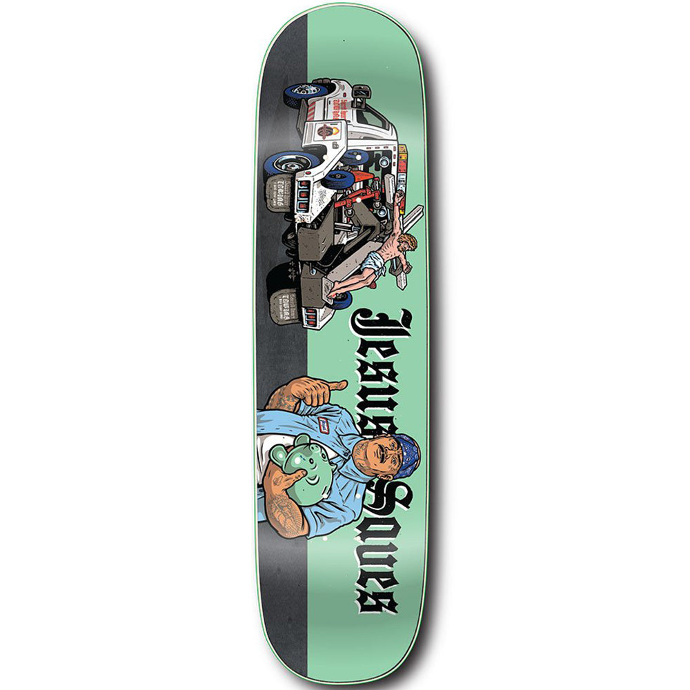 StrangeLove Jesus Saves deck 8.5