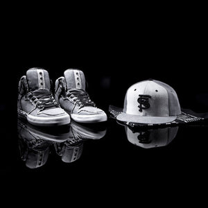 Supra x KR3W The Franchise pack: Vaider High, cap and bandana