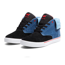 Load image into Gallery viewer, Supra Passion blue/black/red-white