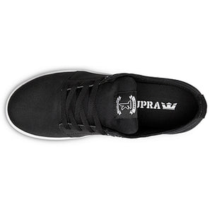 Supra Stacks black/white TUF