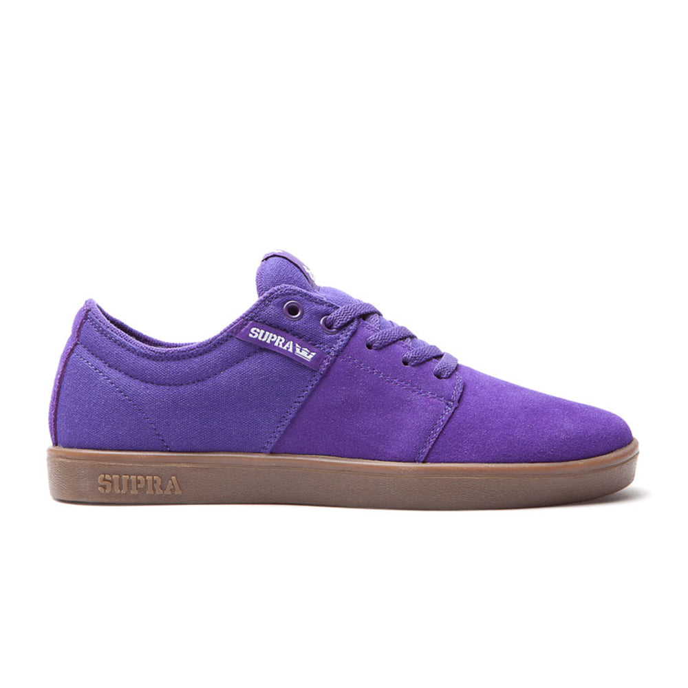 Supra Stacks purple/gum