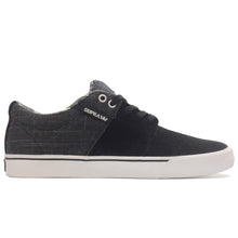 Load image into Gallery viewer, Supra Stacks Vulc II black/grey/white
