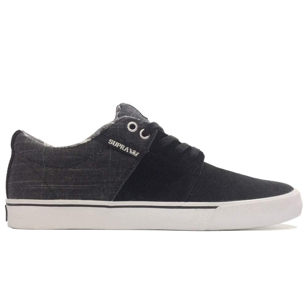 Supra Stacks Vulc II black/grey/white