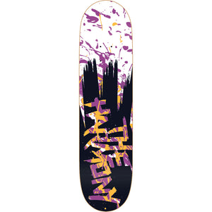 The Harmony Harmonious Splatter purple deck