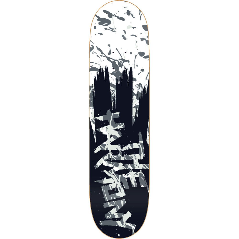 The Harmony Harmonious Splatter grey deck