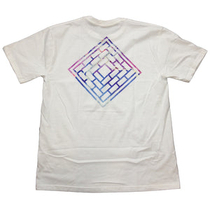 The National Acid Logo white T shirt