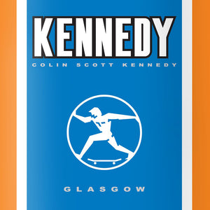 The National Skateboard Co X Colin Kennedy guest deck 8.125""