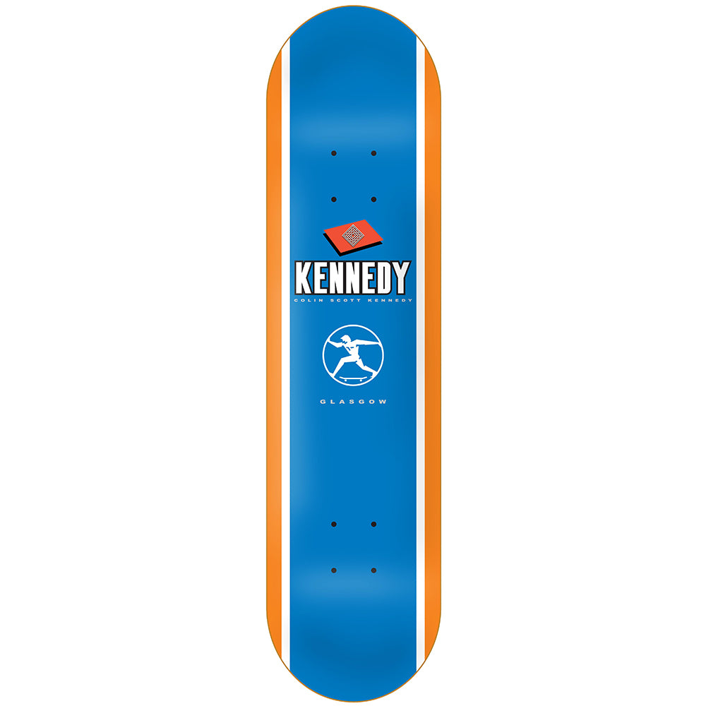 The National Skateboard Co X Colin Kennedy guest deck 8.125