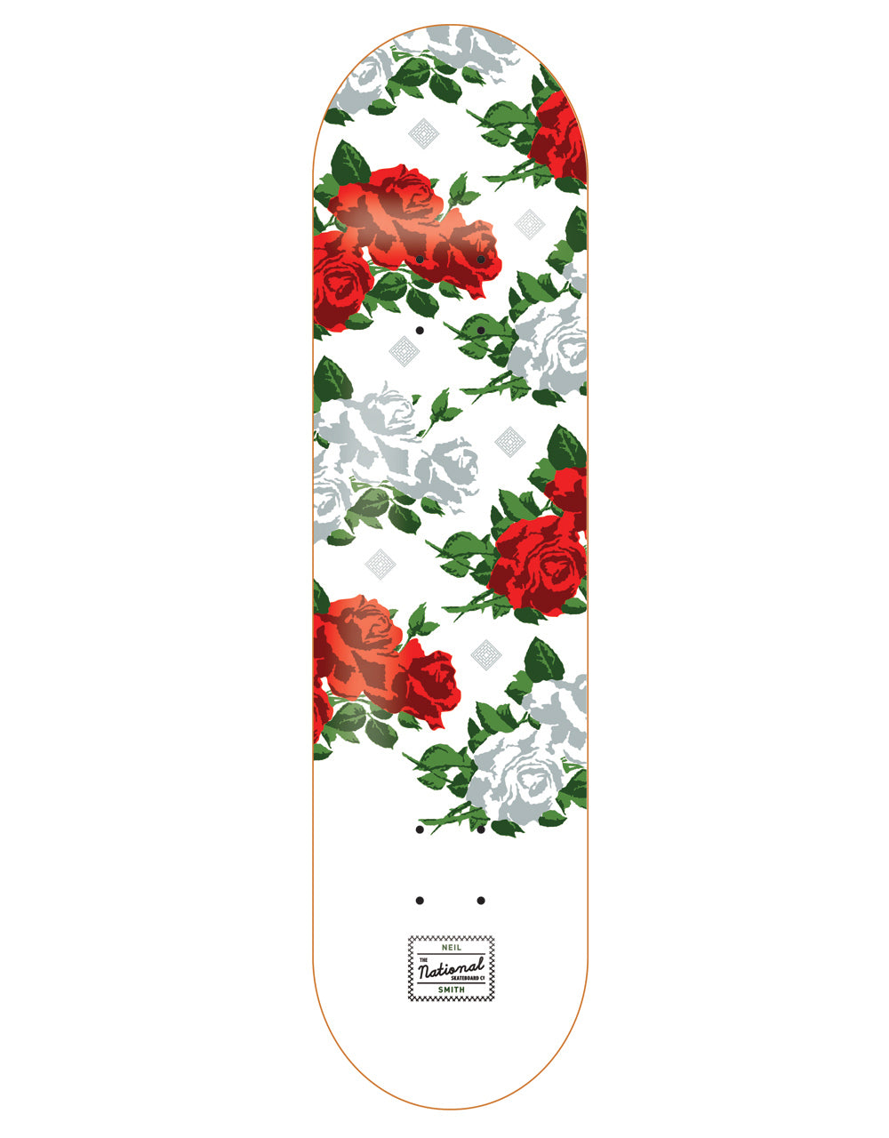 The National Smith Roses deck 8