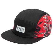 Load image into Gallery viewer, The Quiet Life Aloha black 5 Panel Cap