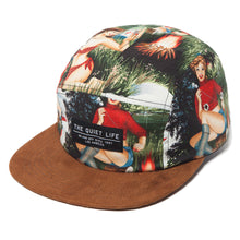 Load image into Gallery viewer, The Quiet Life Au Natural 5 Panel Cap